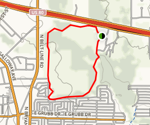 Samuell Farm Trail Map