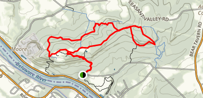Baldpate Mountain Trail Map
