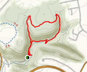 Lower Holly Loop Trail Map