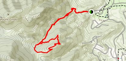 Weaver Gulch [PRIVATE PROPERTY] Map
