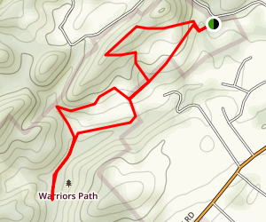 Sinking Waters Trail Map