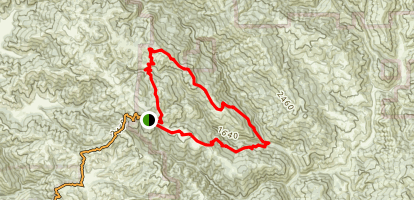 Middle Ridge Trail Map