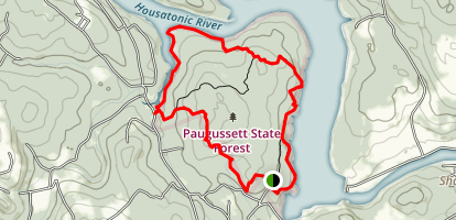 Upper Paugussett Trail Map
