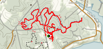 Huber Woods County Park Trails Map