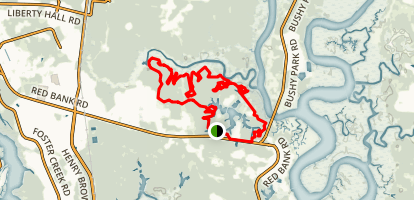 Marrington Plantation Trail Map