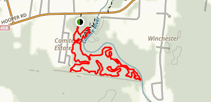 Comite Park Trail Map