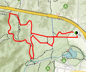 Grasslands Loop Trail Map