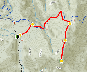 Mount Rosa Trail Map