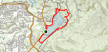 Watson Lake and Flume Trail Map