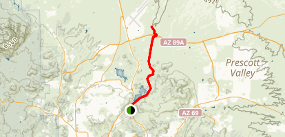 Peavine Trail Map