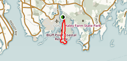 Bluff Point State Park and Coastal Reserve Trail Map