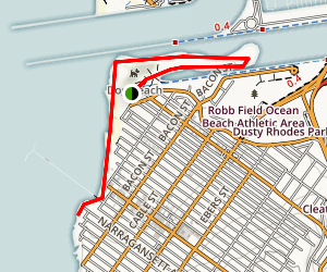 Ocean Beach Park Trail Map