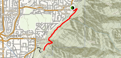 Bear Canyon Bridge Trail Map
