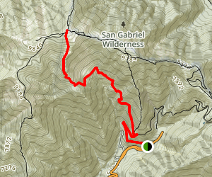 Baldy Bowl Trail Map