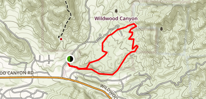 Wildwood Canyon Trail Map
