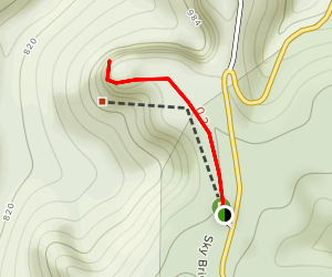 Whistling Arch Trail Map