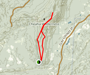 Odum Point High Falls Loop Trail Map