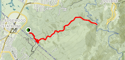 Van Sickle Rim Trail Connector Map