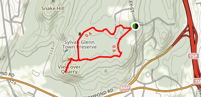Sylvan Glen Park Trail Map
