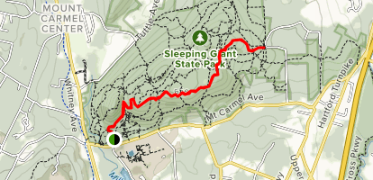 Sleeping Giant Head White Trail - Connecticut | AllTrails on mueller state park trail map, fairmount park trail map, hacklebarney state park trail map, southford falls trail map, jordan river pathway trail map, hanakapiai falls trail map, algonquin trail map, giants stadium map, giant mountain adirondacks trail map, wissahickon valley park trail map, glade top trail map, bigelow hollow trail map, douthat state park trail map, mission ridge trail map, wissahickon park hiking trail map, sequoia national park trail map, jackson hole wyoming trail map, jacobsburg state park trail map, waimea canyon trail map, cockaponset trail map,