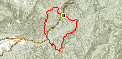 Laurel Creek Loop Trail Map