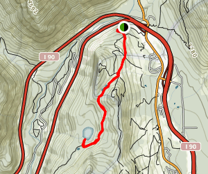Lodge Lake Trail Map