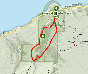 Twanoh Trail Map