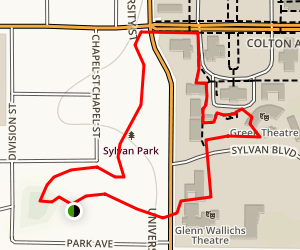 Sylvan Park Trail Map