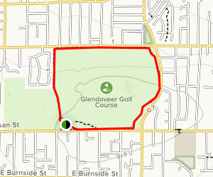Glendover Fitness Trail Loop Map