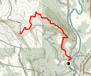 Mount Prospect and Raccoon Hill via Appalachian Trail Map