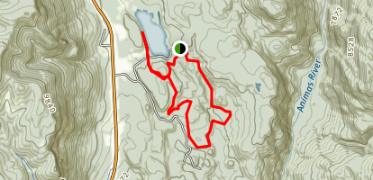 Haviland Lake Trail Map