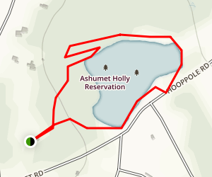 Grassy Pond Trail Map