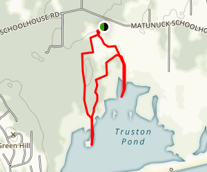 Trustom Pond National Wildlife Refuge Trail Map