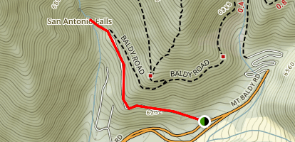 San Antonio Falls Trail Map