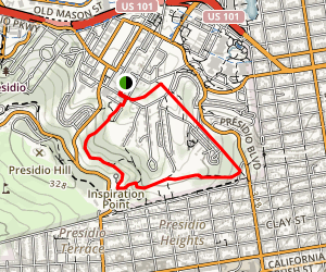 Ecology Trail and Lovers' Lane Loop Map