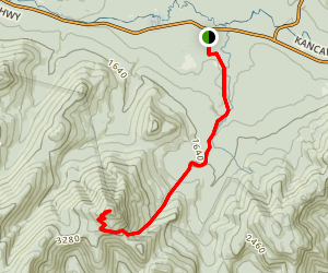 Passaconaway Cutoff Trail Map