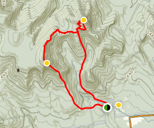 Mount Whiteface and Passaconway Loop Map