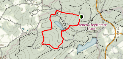 Boone Trail  Map