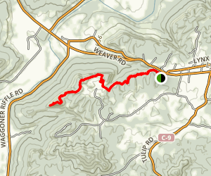 Buzzardroost Rock Trail Map