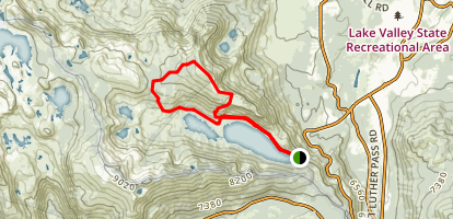 Echo Peak Loop Trail Map