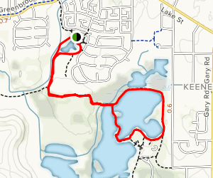 Mallard Lake Trail Map