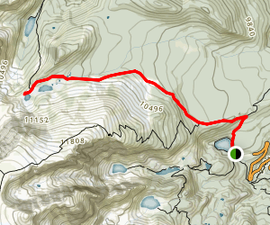 Lake Helene Trail Map