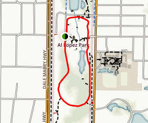 Al Lopez Park Trail Map