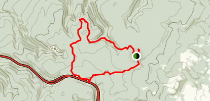 Laurel Summit Loop Map