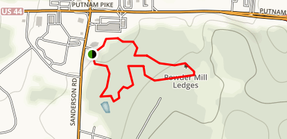 Powder Mill Ledges Trail Map
