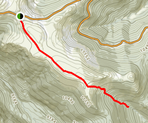 Ute Trail - Tombstone Ridge Map