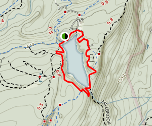 Lake Minnewaska Loop Trail Map