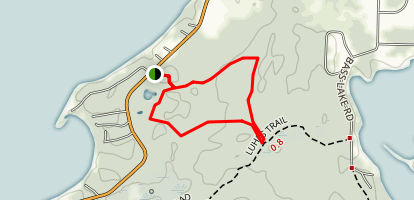 South Long Lake Trail Map