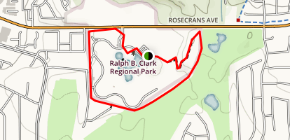 Ralph B. Clark Perimeter Trail Map