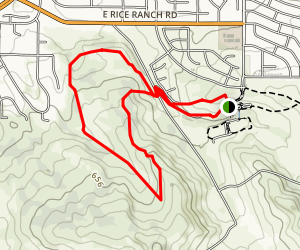 Rice Ranch Trail Map